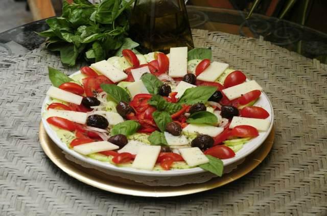 ensaladas originales preparación fácil recetas sabrosas
