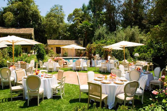 estilo vintage decoración elegante fiesta jardín