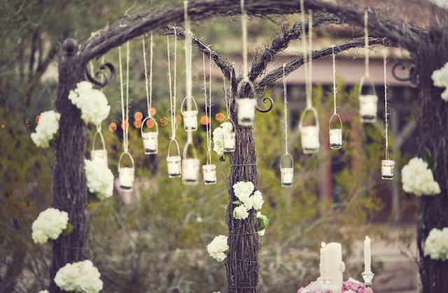 Fiesta de jard n con flores y estilo vintage - Decor shooting photo ...