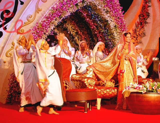 evento temático grupo de danza fiestas