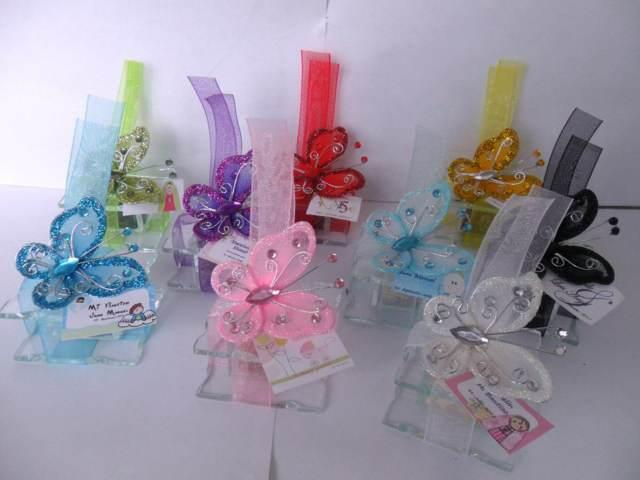 souvenirs de15 años  ideas interesantes mariposas