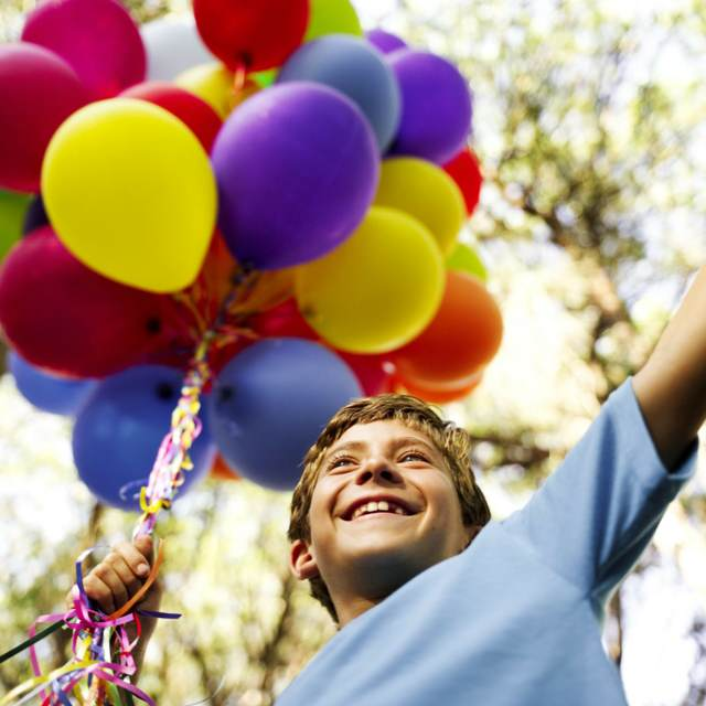 fiesta infantil globos juegos divertidos ideas decoración