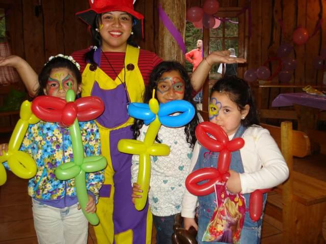 decoración de globos fiesta infantil juegos divertidos