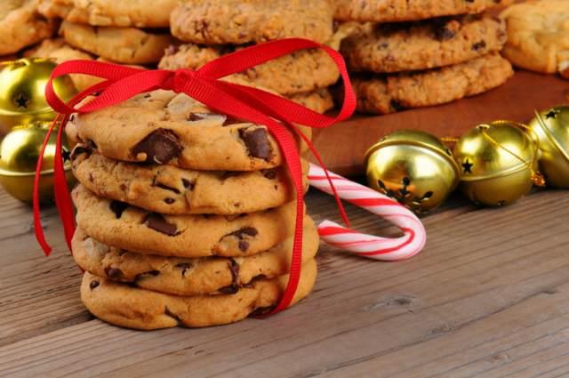 galletas de avena decoración navideña recetas