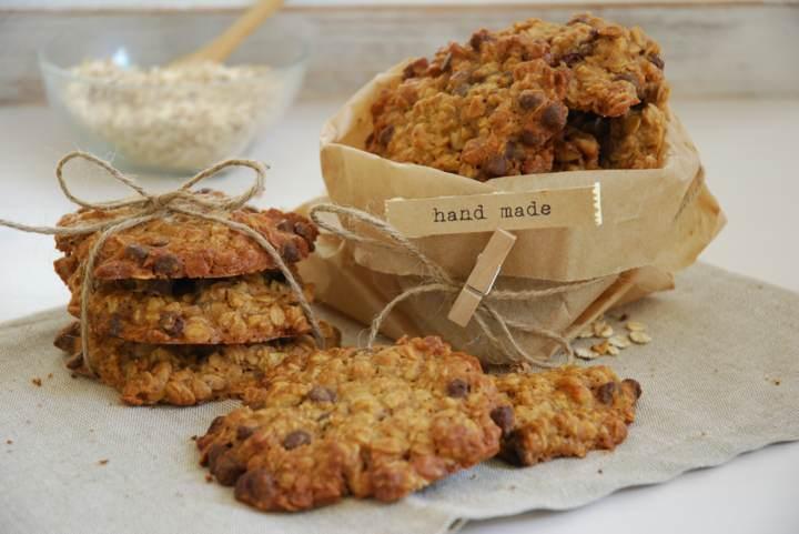 sabrosas galletas de avena dulces fiesta