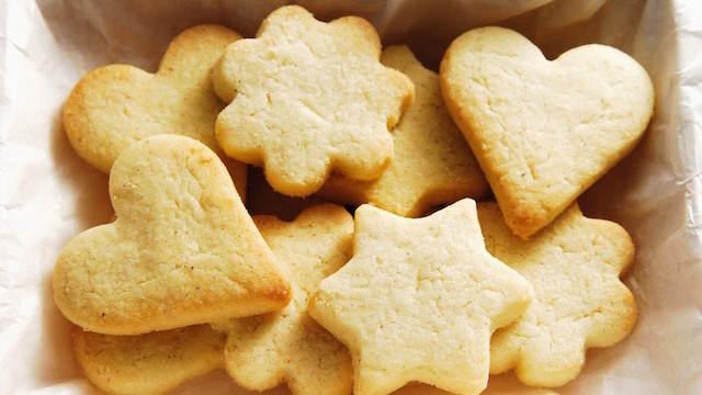 galletas de mantequilla preparación fácil rápida
