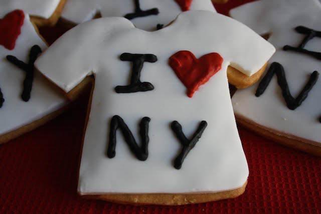 galletas temáticas cumpleaños Nueva York