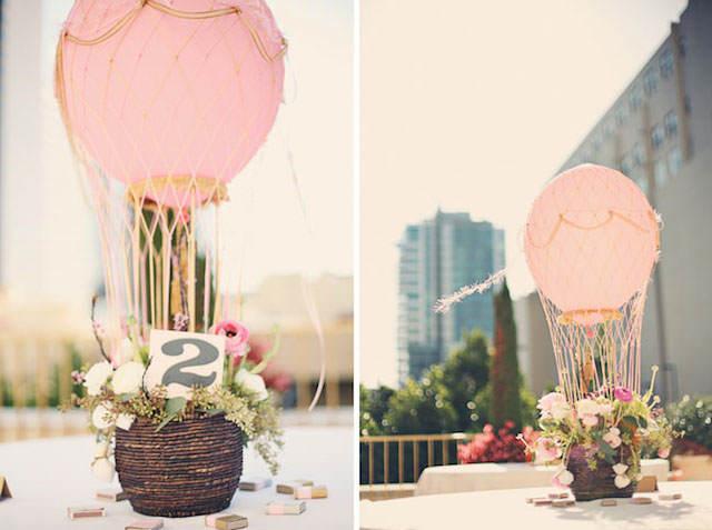 globos flores magnífica decoración para fiestas