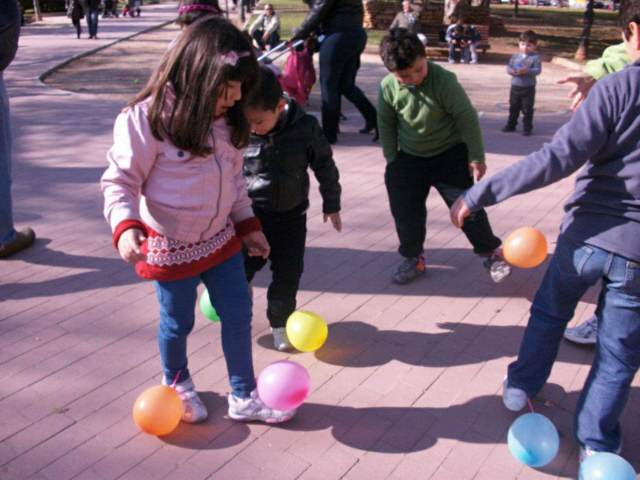 globos juegos divertidos fiesta infantil ideas interesantes