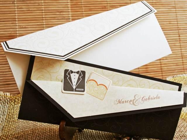 invitación boda idea original momento especial diseño único