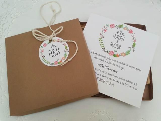 invitaciones boda ideas magníficas modernas