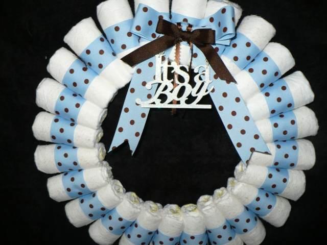 manualidades baby shower color azul ideas temáticas