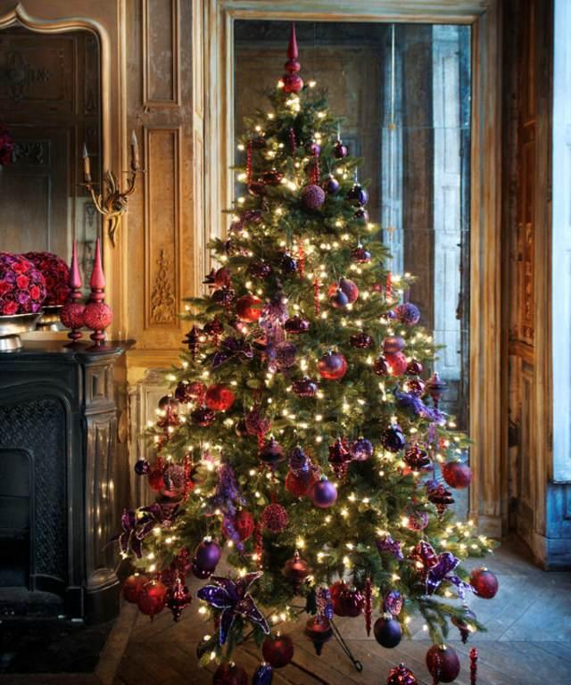 Navidad decoración magnífica árbol ideas interesantes