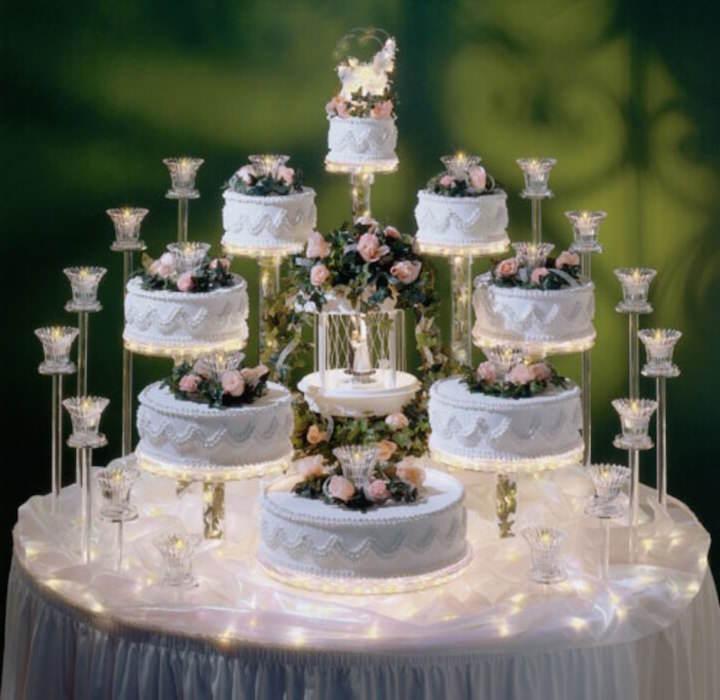 original decoración de pasteles elegantes