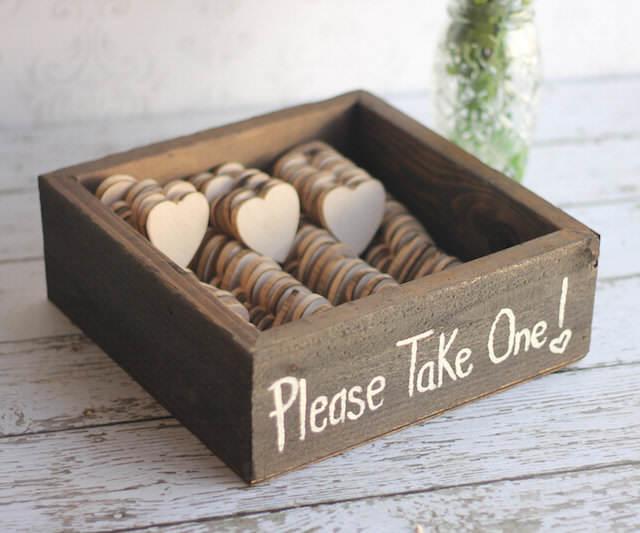 originales recuerdos para boda forma corazón galletas