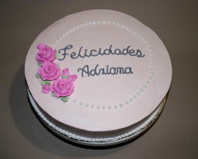 torta cumpleaños decoración sencilla elegante