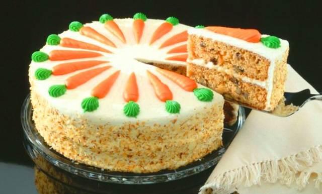 pastel de zanahoria decoración interesante ideas recetas