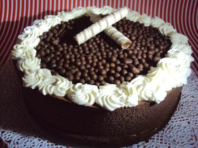 pastel helado de chocolate idea original fiesta cumpleaños
