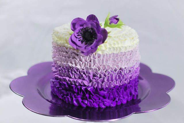 pastel precioso matices violeta flor