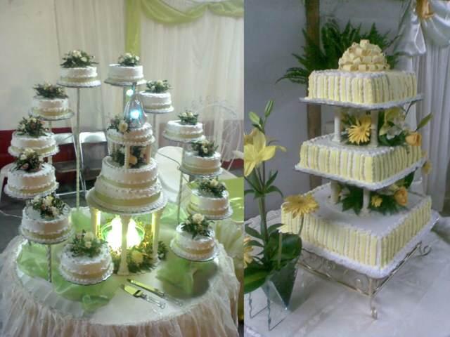pastel decoración verde temática boda fabulosa