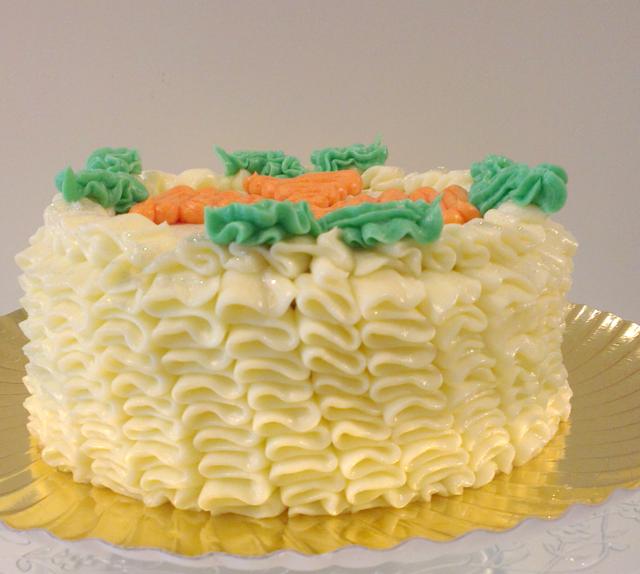 pastel precioso zanahoria decoración interesante recetas sabrosas
