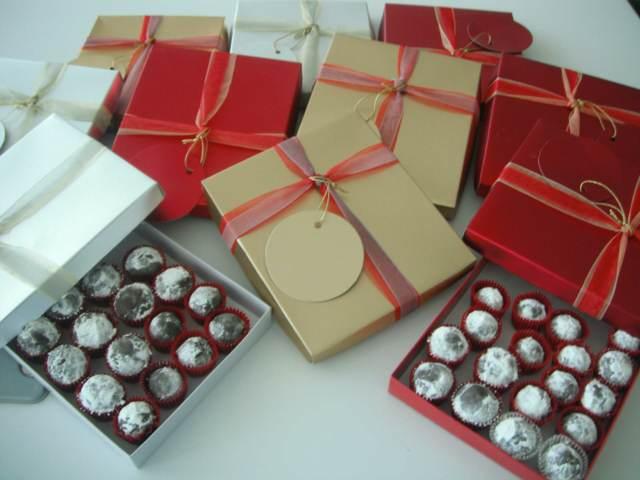 preciosas trufas dulces fiestas temáticas regalo