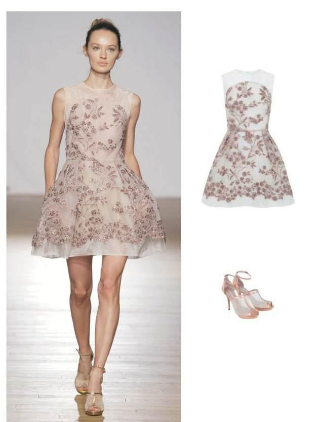magnífico vestidos de novia cortos colores modernos tendencias 2015