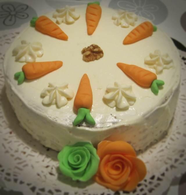 recetas decoración pastel zanahoria ideas