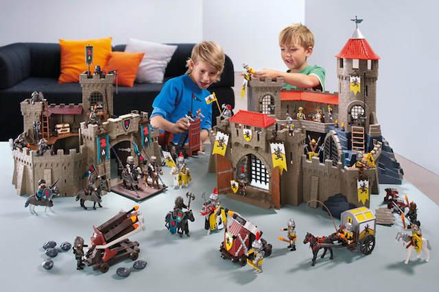 regalo original castillo enorme lego niños