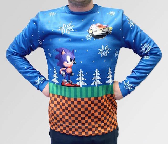regalos de Navidad originales jersey Sonic