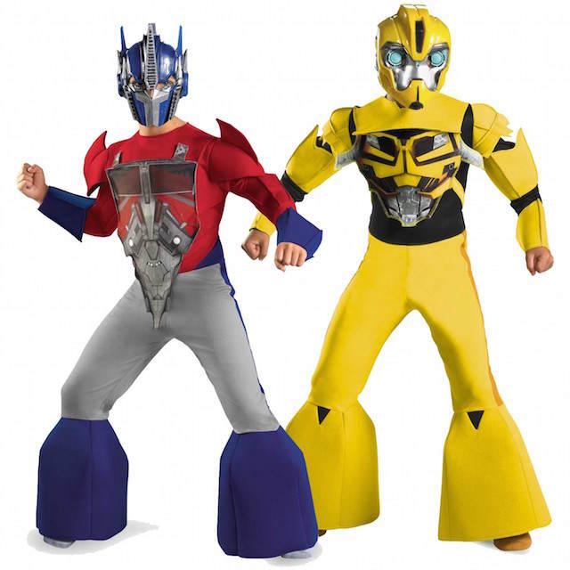 regalos disfraces innovadores transformers idea original