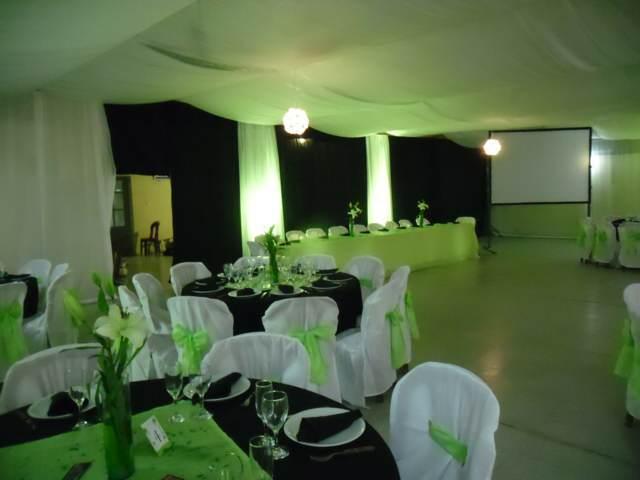 salones fiestas boda perfecta decoración verde