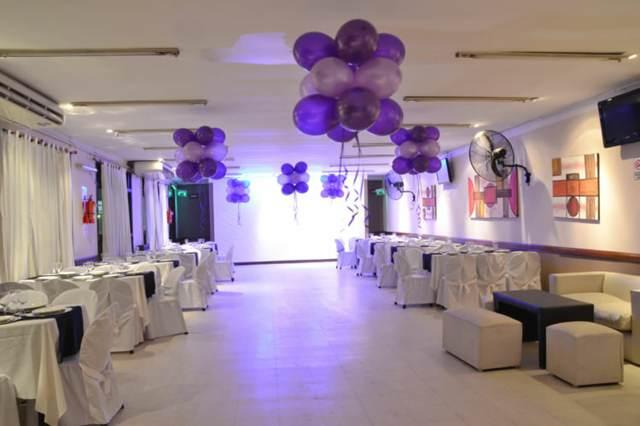 fiestas cumpleaños salón evento temático