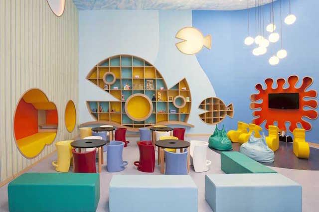 salones de fiestas infantiles interior magnífico