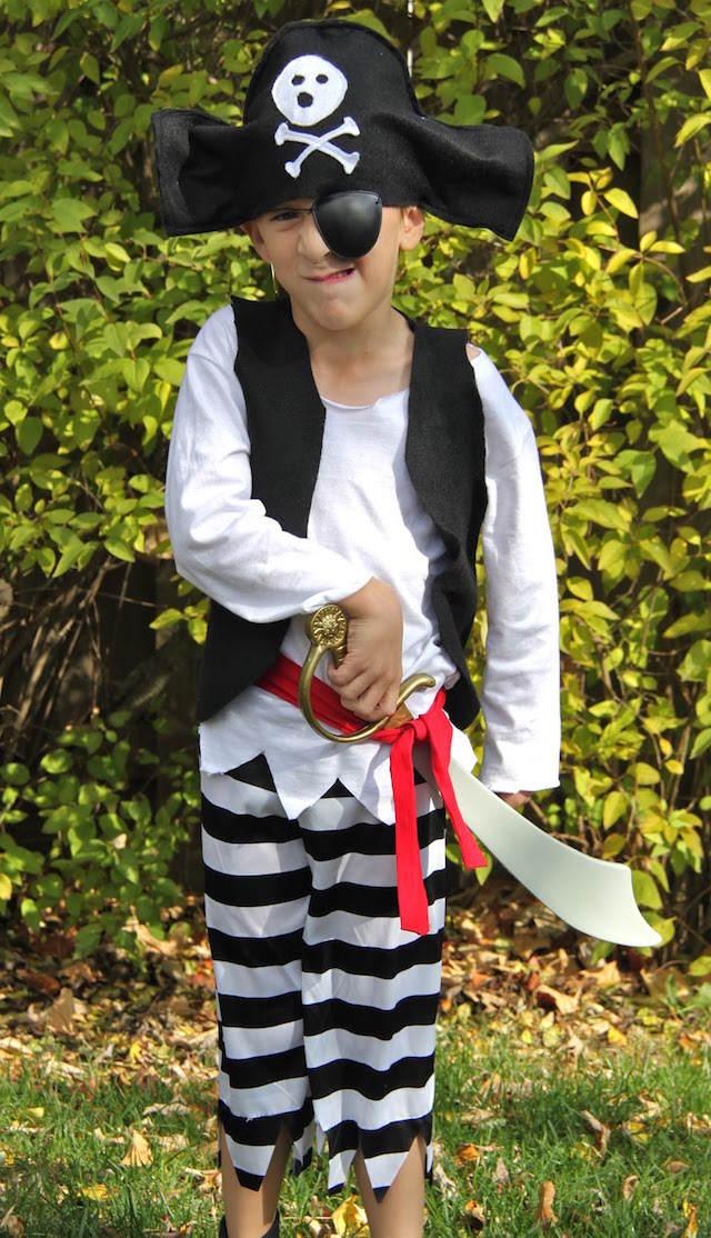sombrero de pirata parche disfraz niño