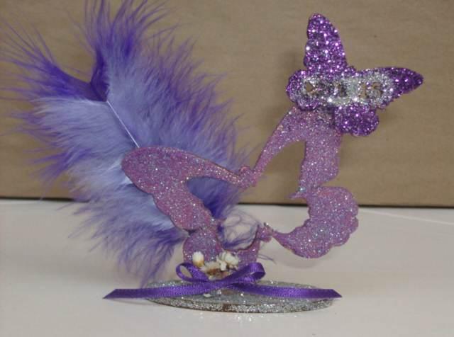 souvenirs  color lila mariposas fiesta temática 15 años