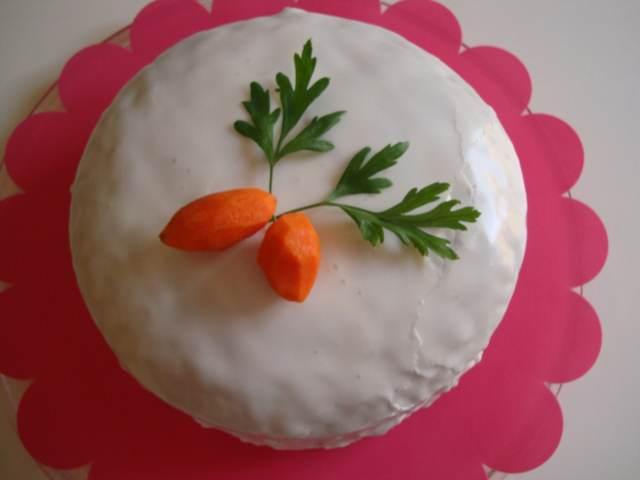 tarta zanahoria ideas decoración original recetas sabrosas