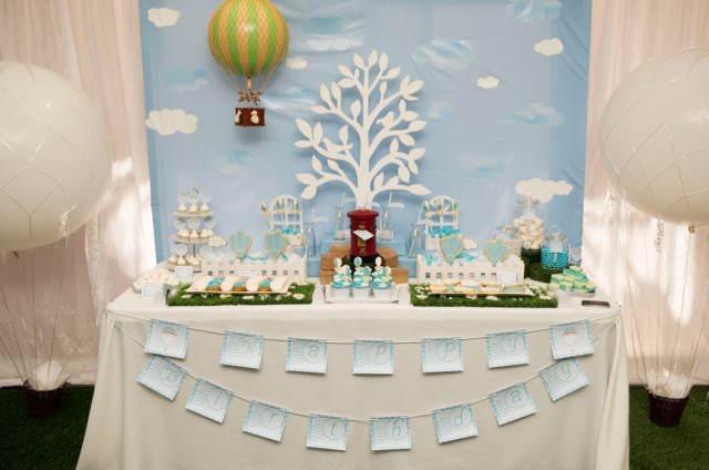 temática decoración para cumpleaños niño globos