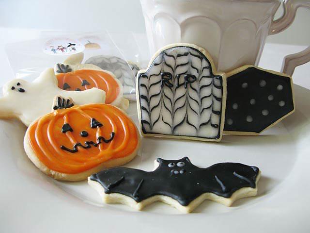 temáticas galletas de mantequilla día Halloween