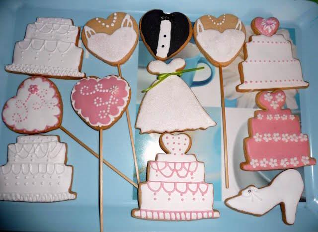 temáticas galletas de mantequilla boda fantástica