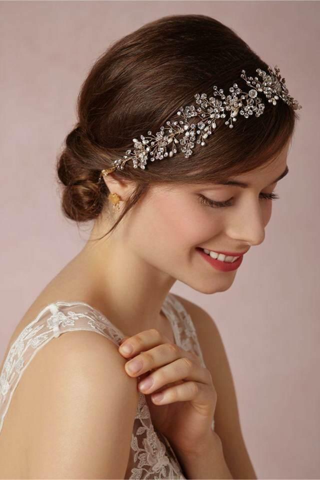 tocado novia ideas modernas maravillosas 2015