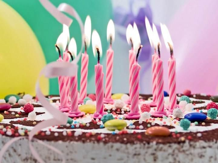 tortas cumpleaños velas decoración preciosa ideas originales