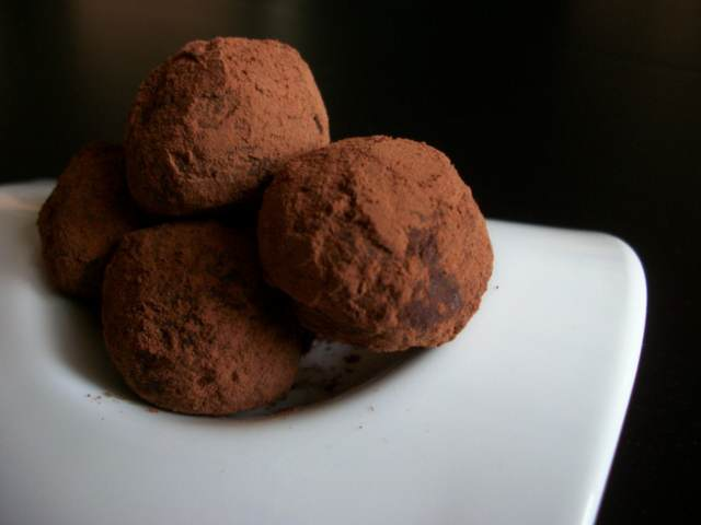 trufas chocolate ideas sabrosas fiesta