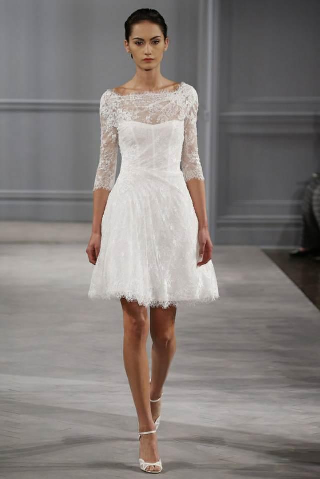 vestido sencillo elegante novia colores modelos boda 2015