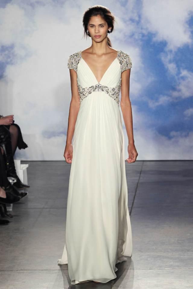 vestidos sencillos novia hermosa ideas modernas 2015