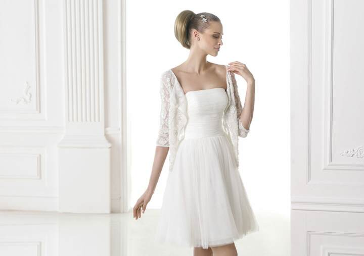 vestidos de novia sencillos tendencias 2015 modelos colores magníficos