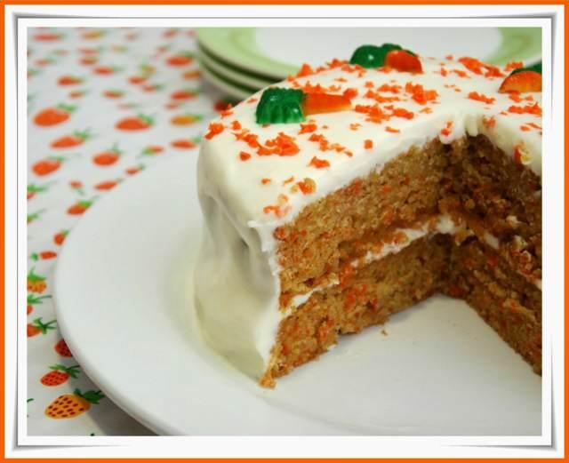 zanahoria pastel recetas sabrosas decoración preciosas