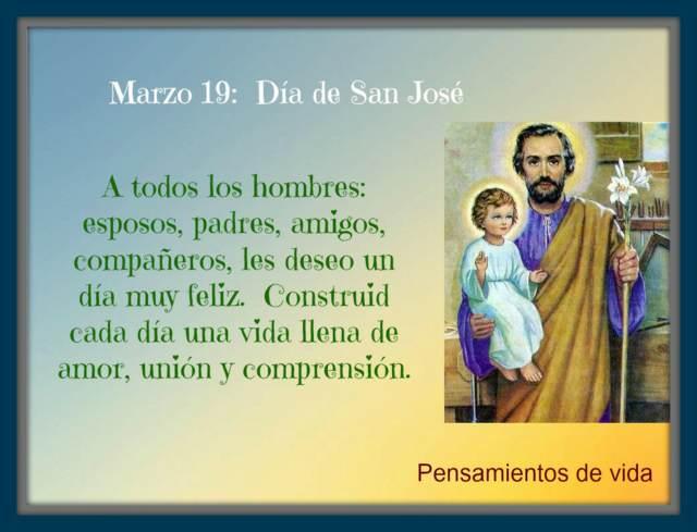 19 marzo San José día padre