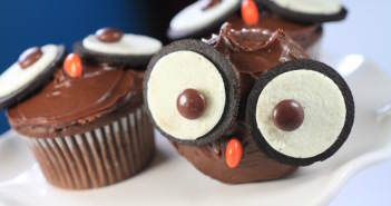 Halloween-decorados-muffins-de-chocolate-mochuelo