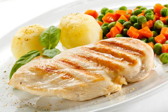 delicioso Pollo a la plancha comidas sanas